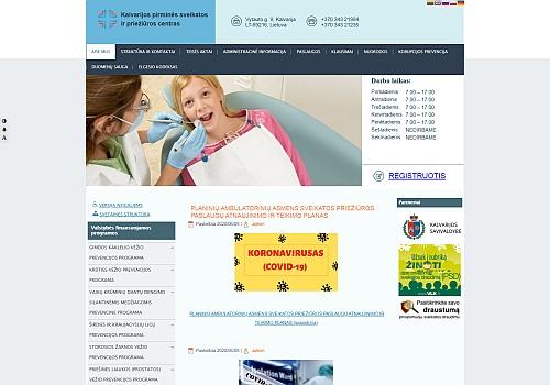 VšĮ Kalvarijos pirminės sveikatos priežiūros centras