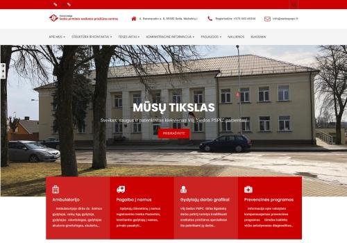 VšĮ Sedos pirminės sveikatos priežiūros centras