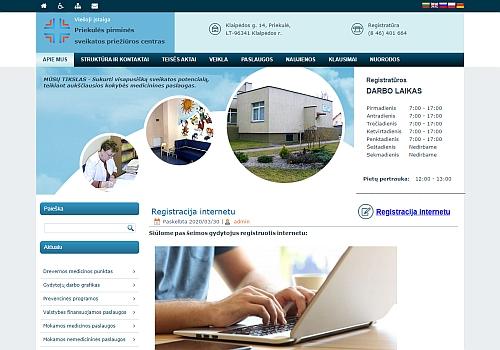 Viešoji įstaiga Priekulės pirminės sveikatos priežiūros centras